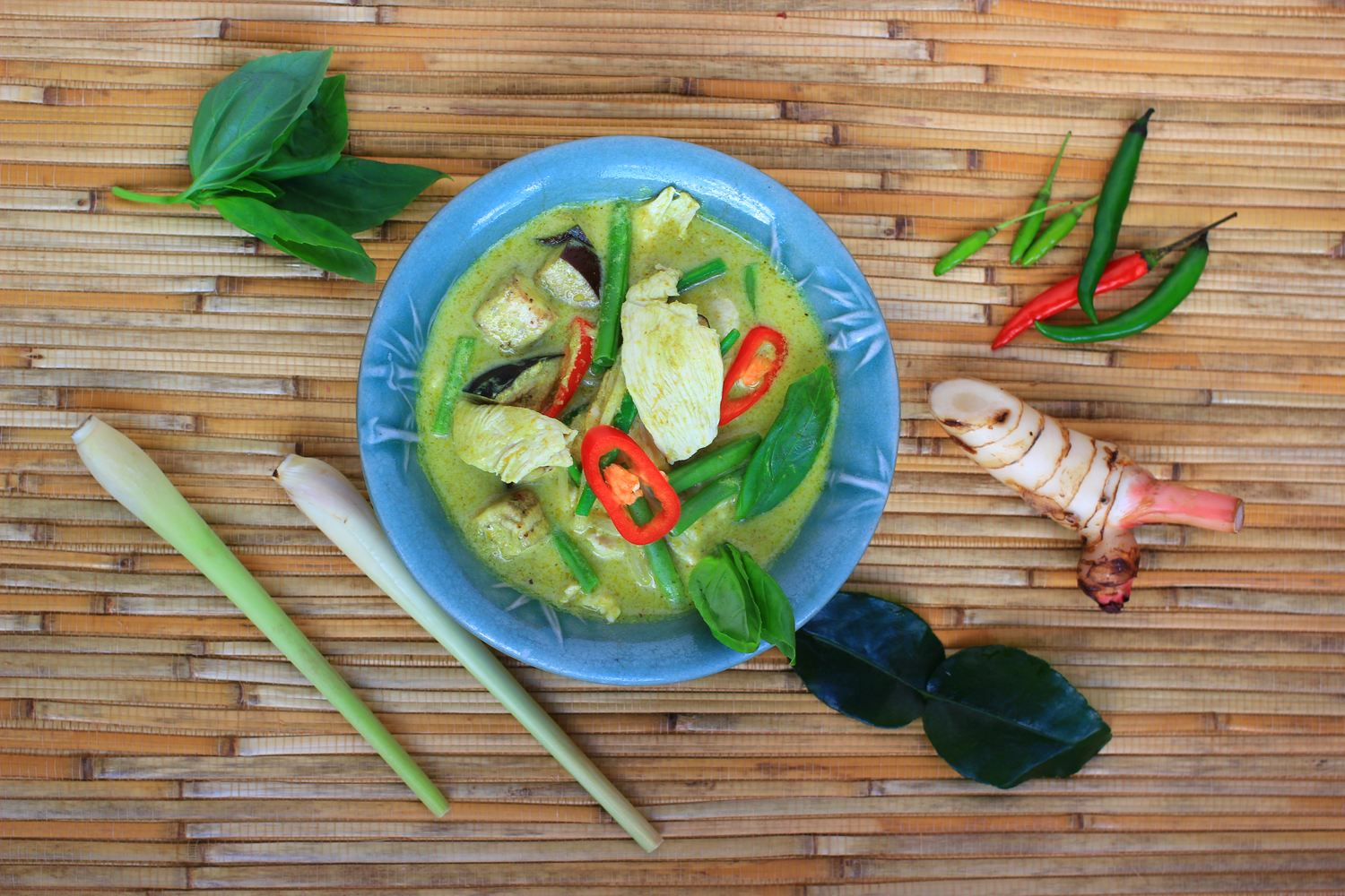 Authentic Thai Green Chicken Curry
